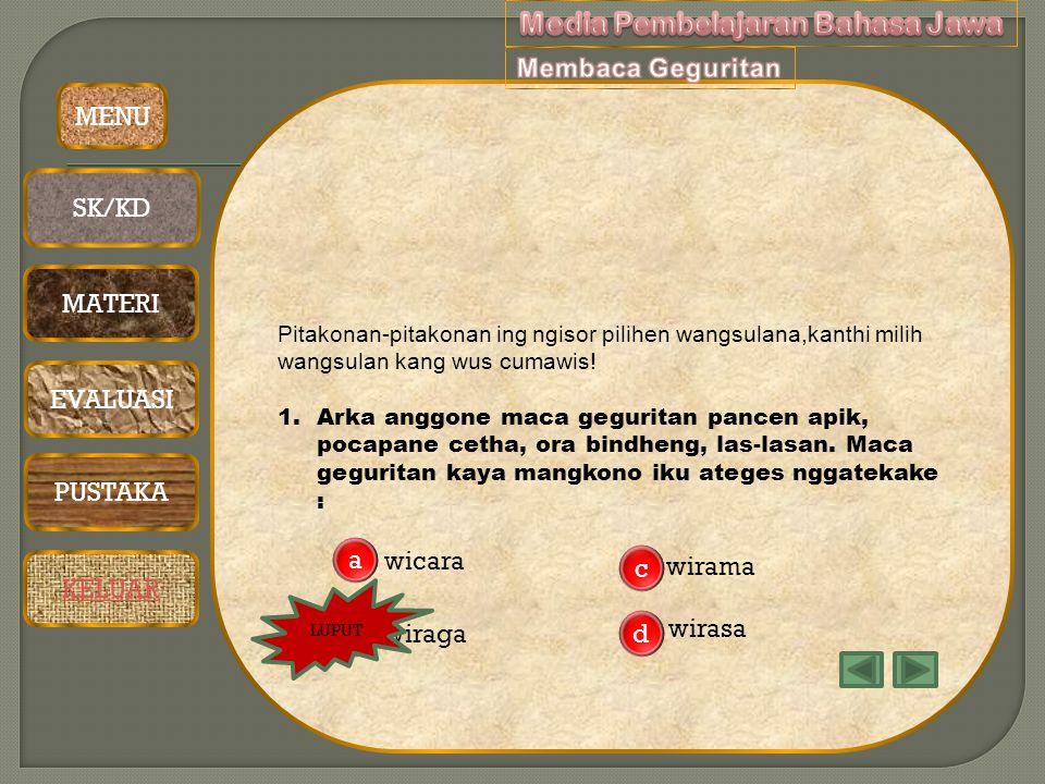 Media Pembelajaran Bahasa Jawa