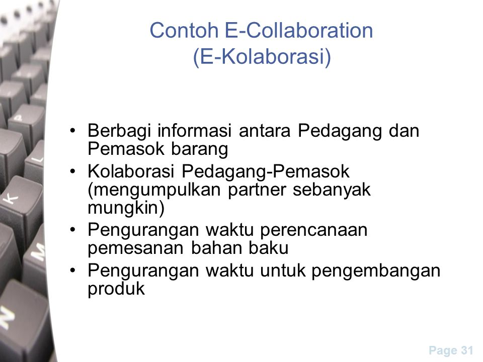 Contoh E-Collaboration (E-Kolaborasi)