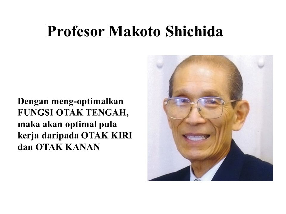 Profesor Makoto Shichida
