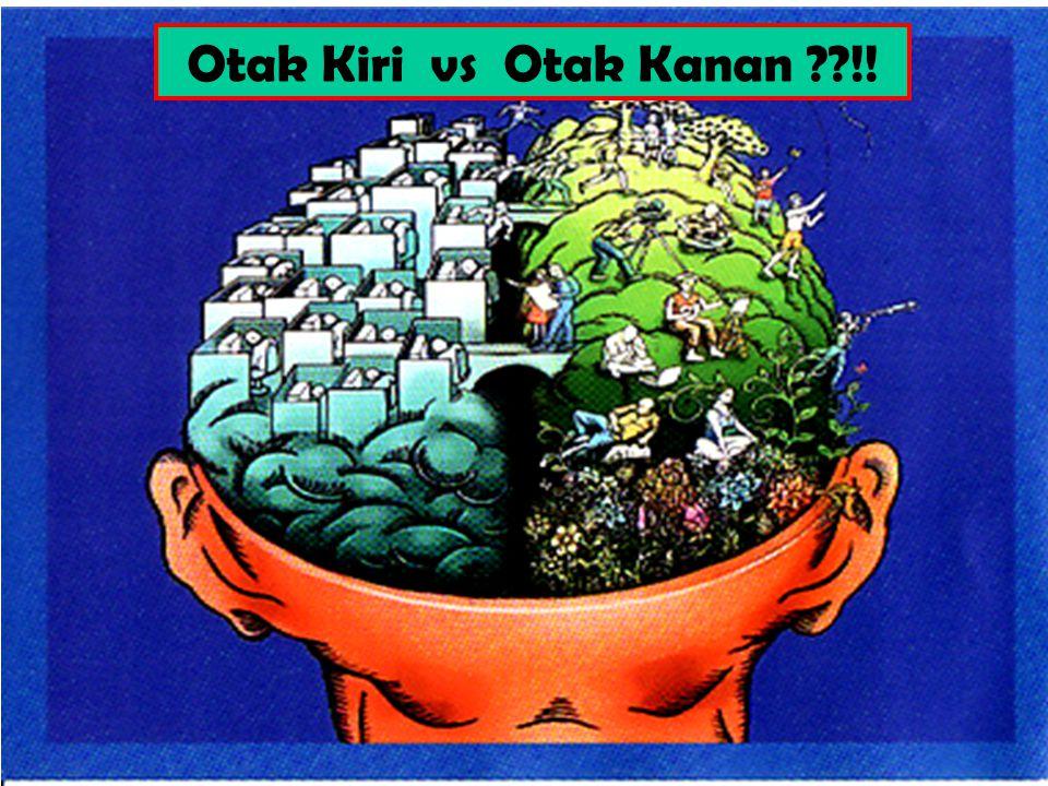 Otak Kiri vs Otak Kanan !!