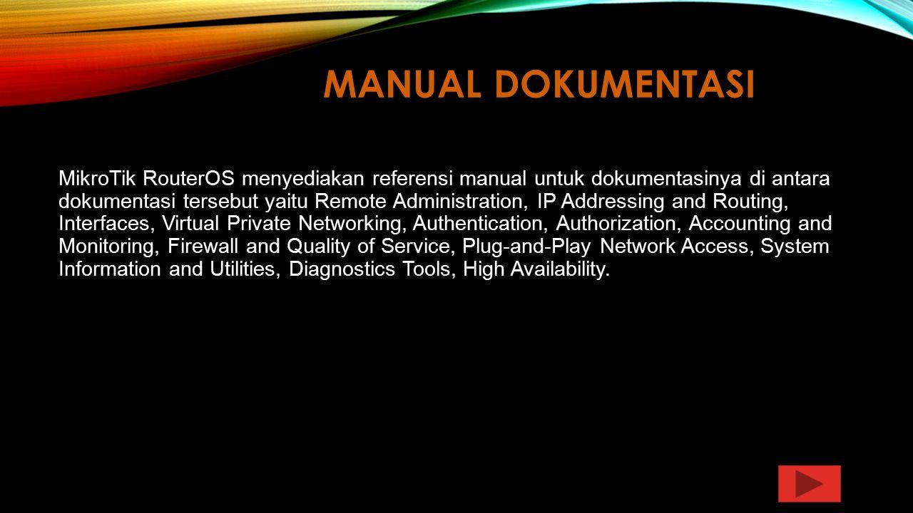 Manual Dokumentasi