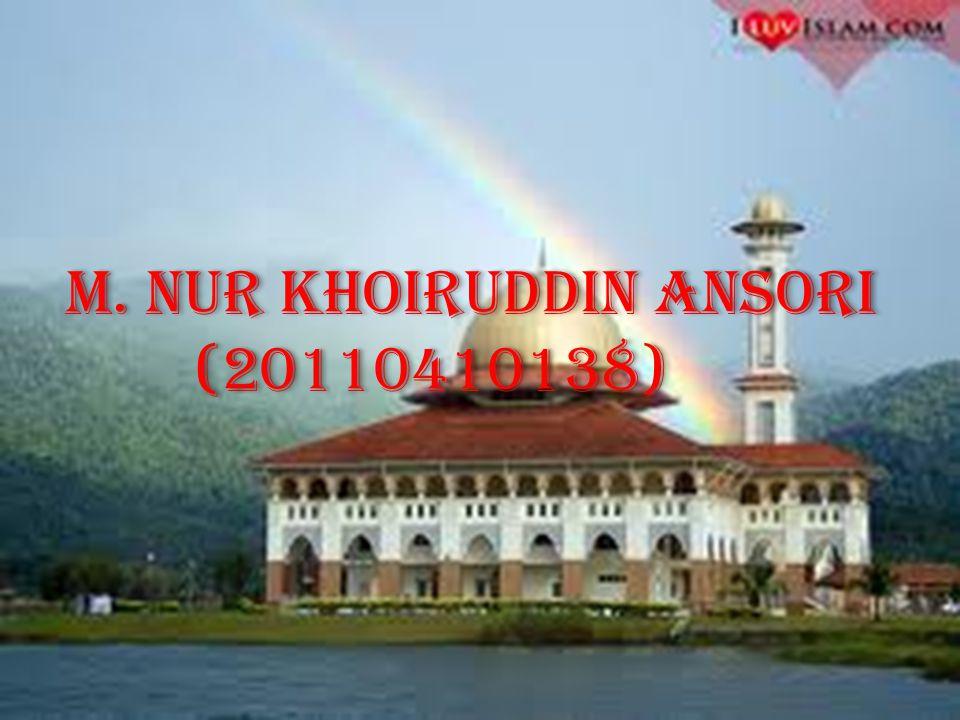 M. Nur Khoiruddin Ansori
