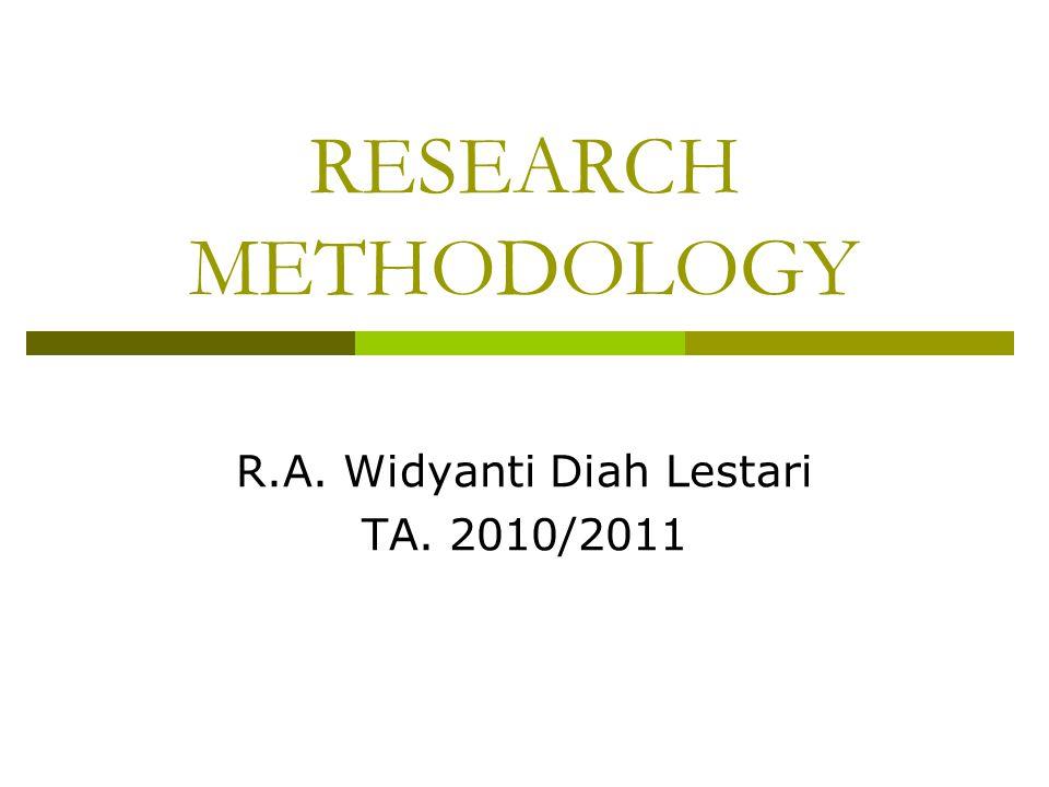 R.A. Widyanti Diah Lestari TA. 2010/2011