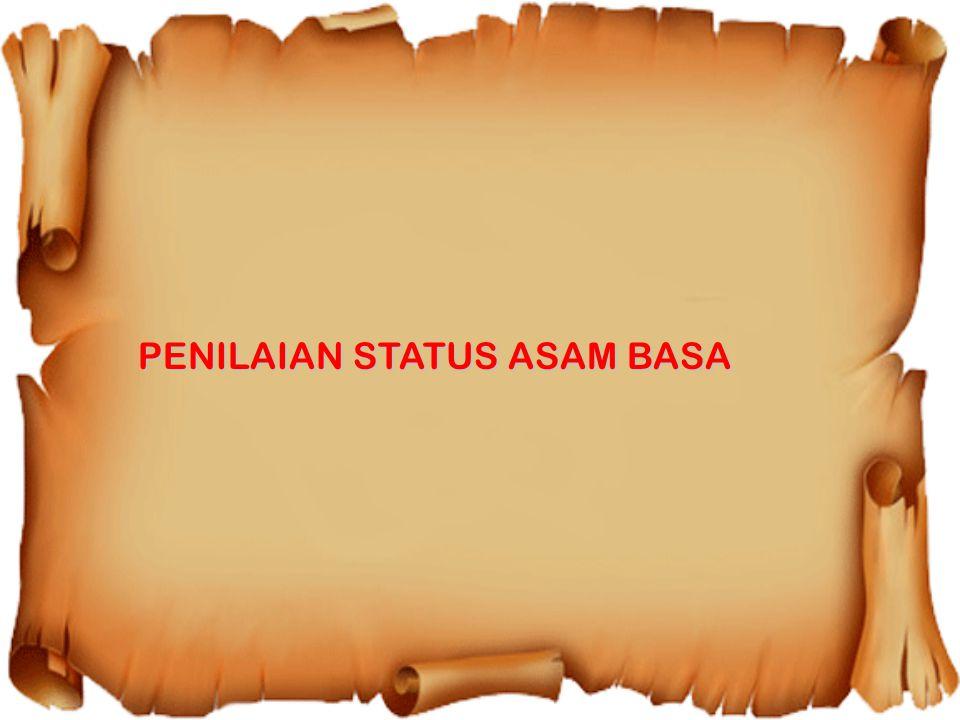 PENILAIAN STATUS ASAM BASA
