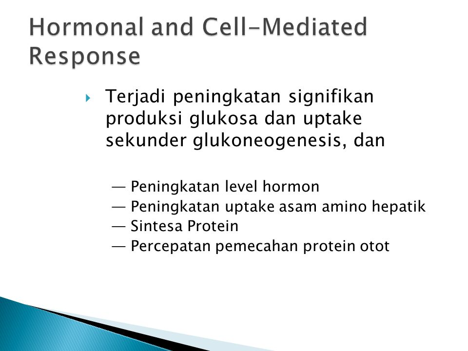 Hormonal and Cell-Mediated Response
