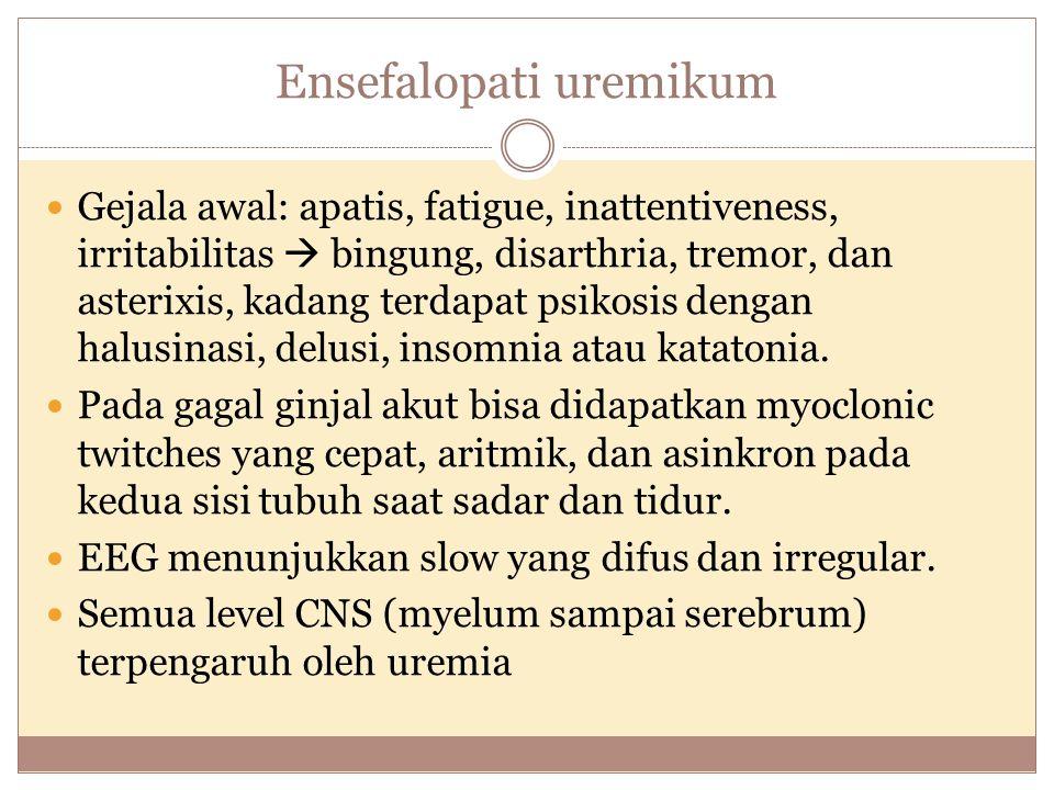 Ensefalopati uremikum