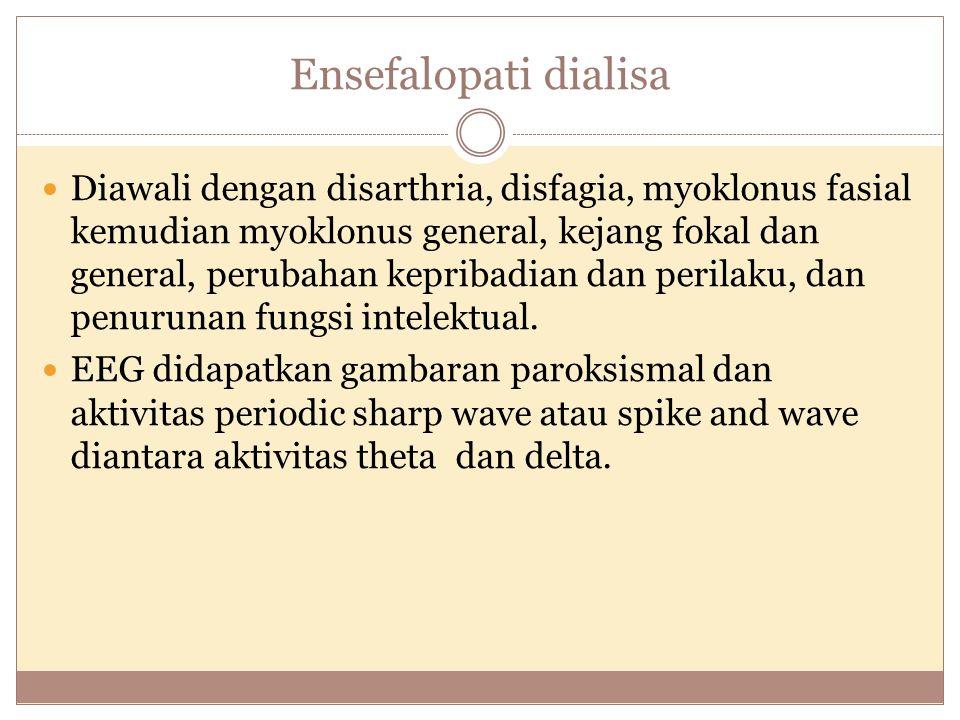 Ensefalopati dialisa