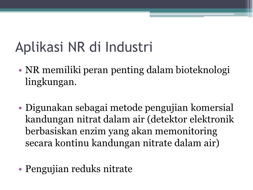 Aplikasi NR di Industri