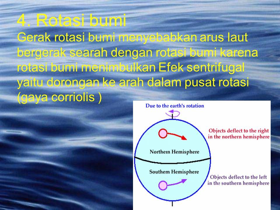 4. Rotasi bumi