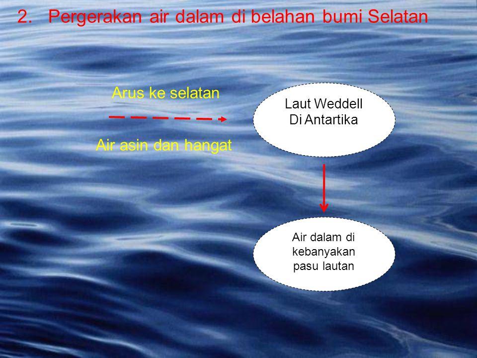 Air dalam di kebanyakan pasu lautan