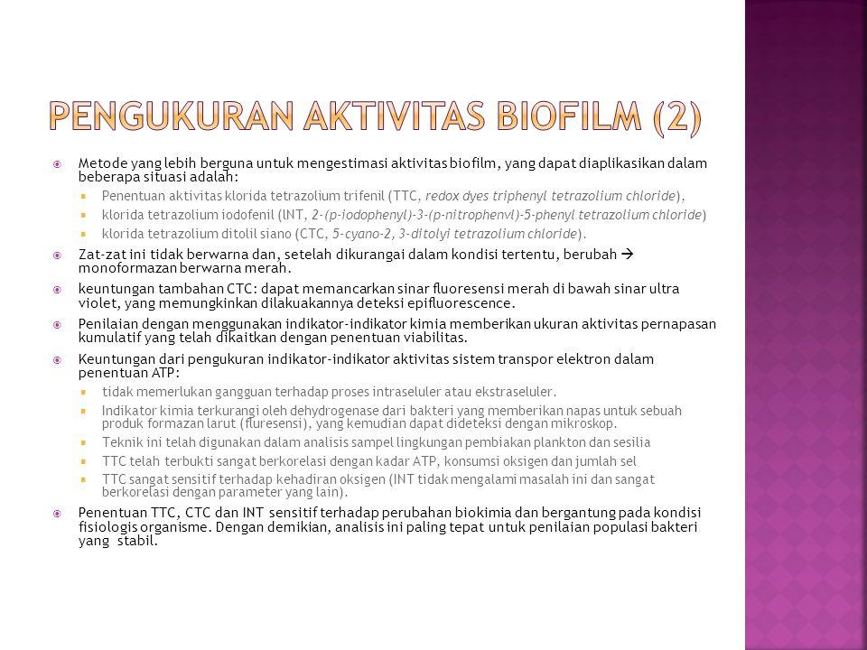 PENGUKURAN aktivitas BIOFILM (2)