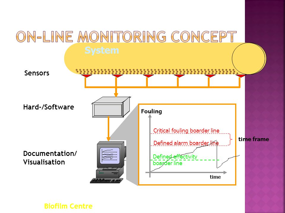 On-line Monitoring concept