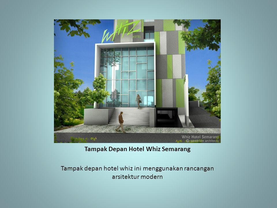 Tampak Depan Hotel Whiz Semarang