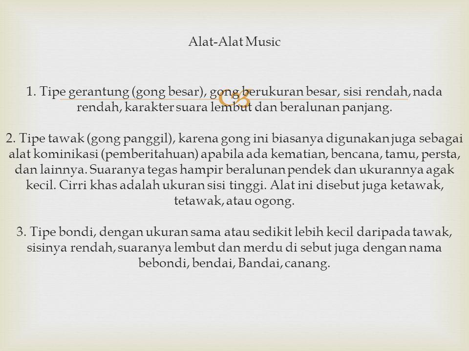 Alat-Alat Music