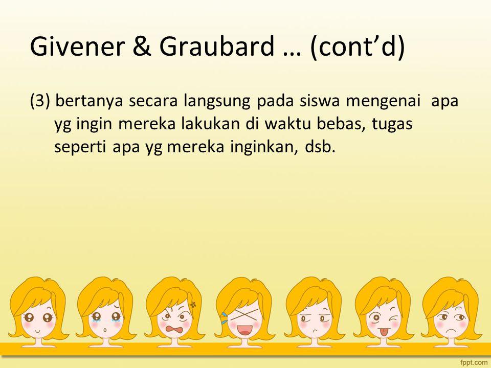 Givener & Graubard … (cont'd)