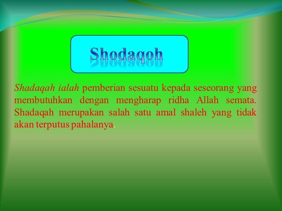 Shodaqoh
