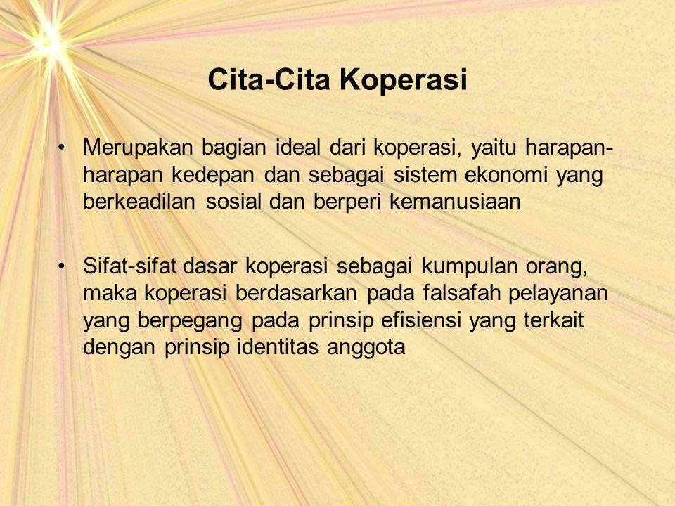 Cita-Cita Koperasi