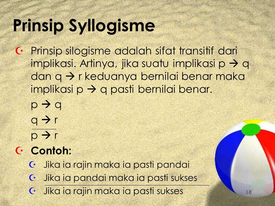 Prinsip Syllogisme