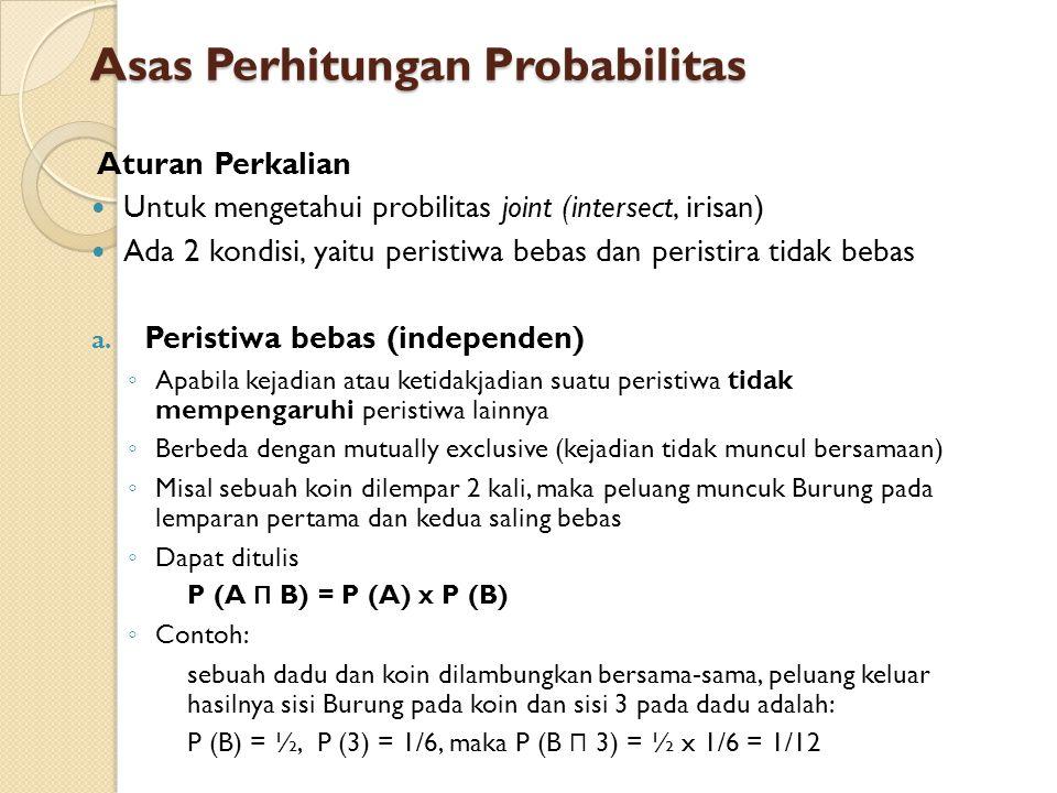 Asas Perhitungan Probabilitas