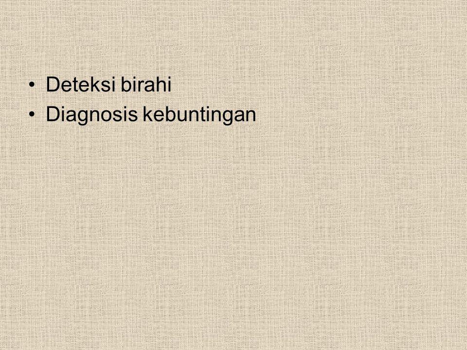 Deteksi birahi Diagnosis kebuntingan