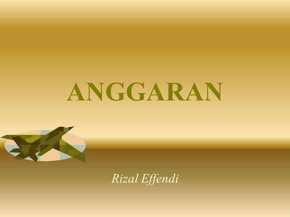 ANGGARAN Rizal Effendi