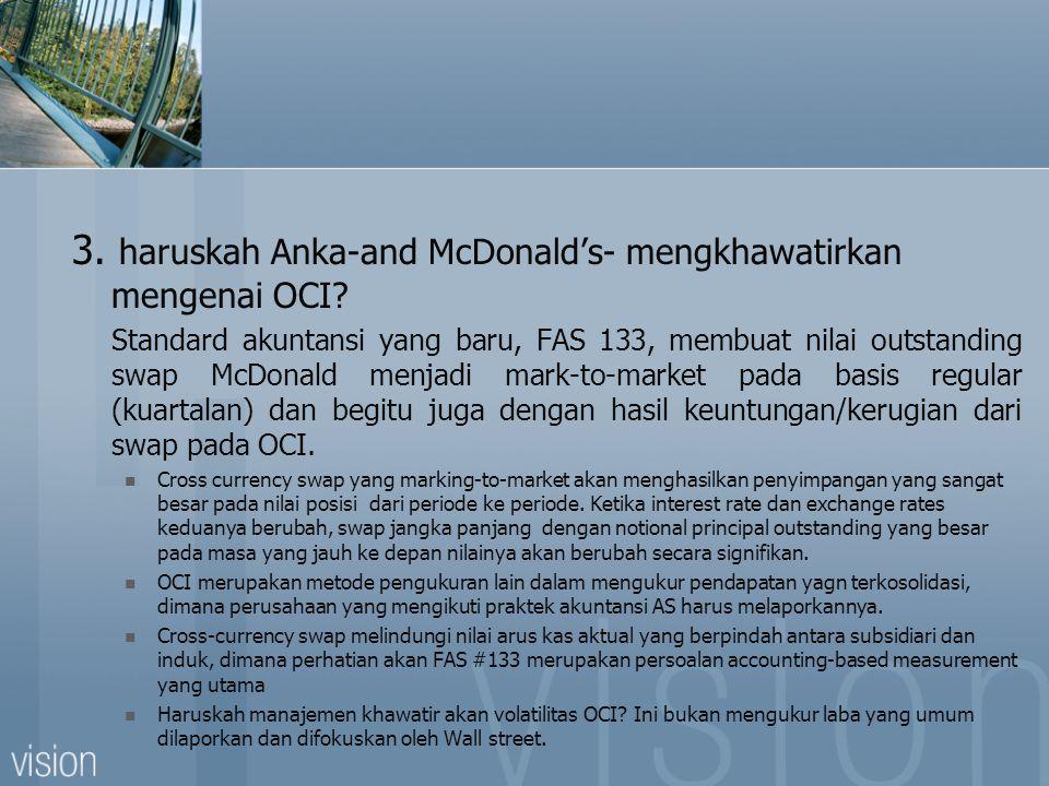 3. haruskah Anka-and McDonald's- mengkhawatirkan mengenai OCI