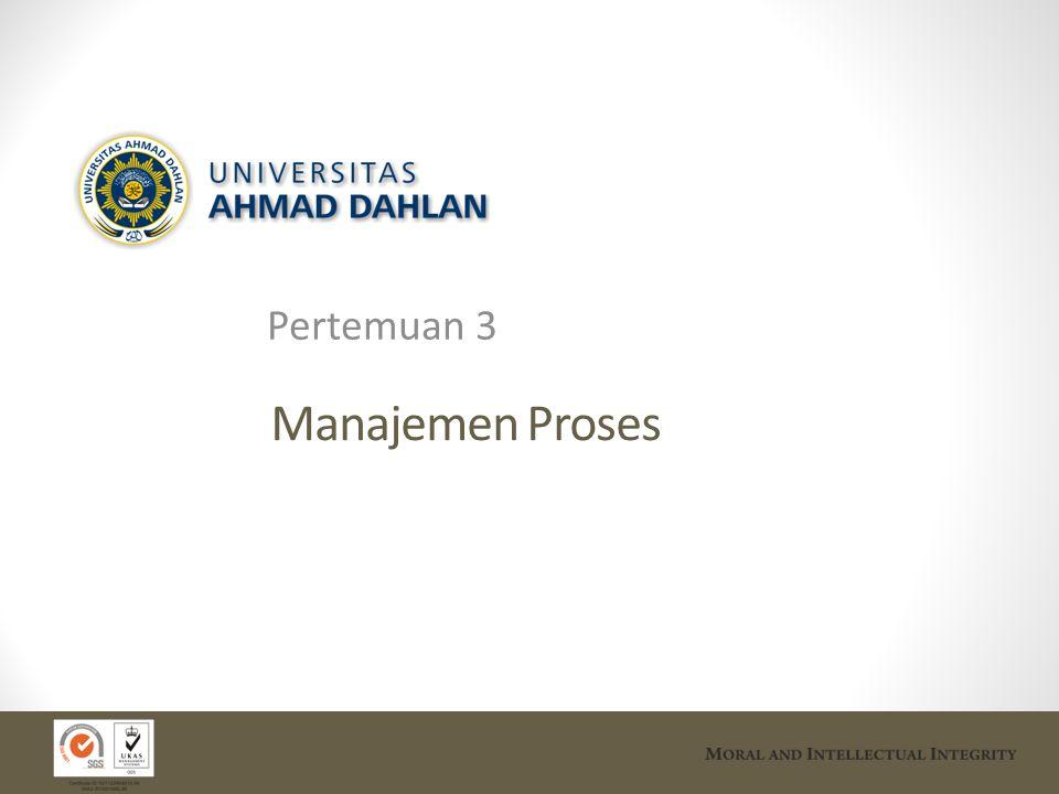 Pertemuan 3 Manajemen Proses