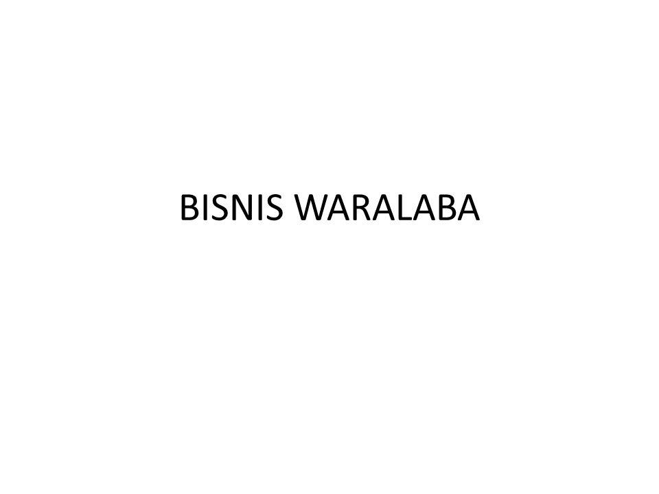 BISNIS WARALABA