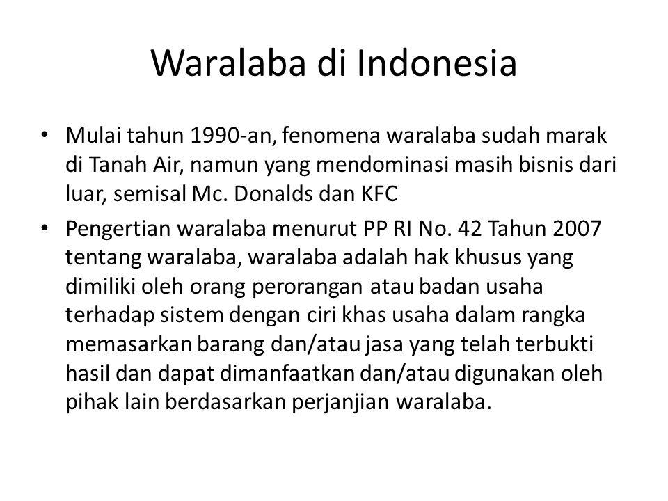 Waralaba di Indonesia