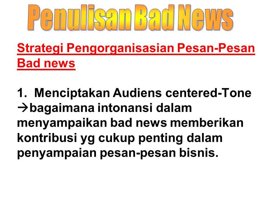 Penulisan Bad News