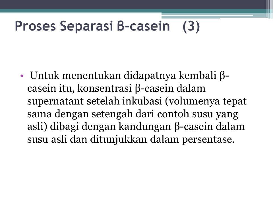 Proses Separasi β-casein (3)