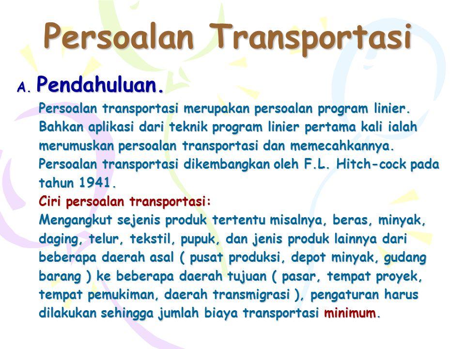 Persoalan Transportasi