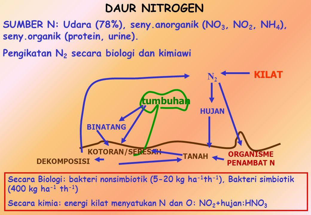 DAUR BIOGEOKIMIA DAUR AIR (HIDROLOGI)