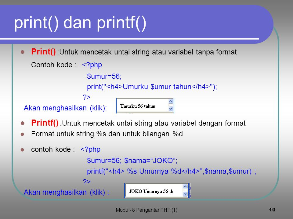 Modul- 8 Pengantar PHP (1)