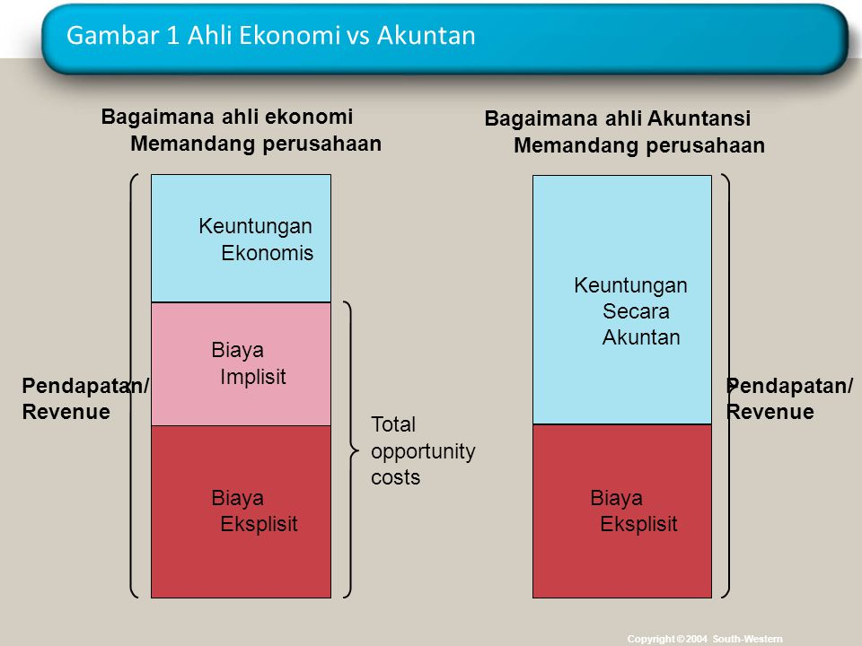Gambar 1 Ahli Ekonomi vs Akuntan