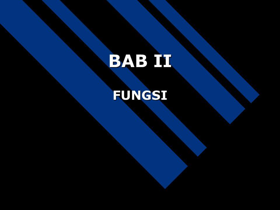 BAB II FUNGSI