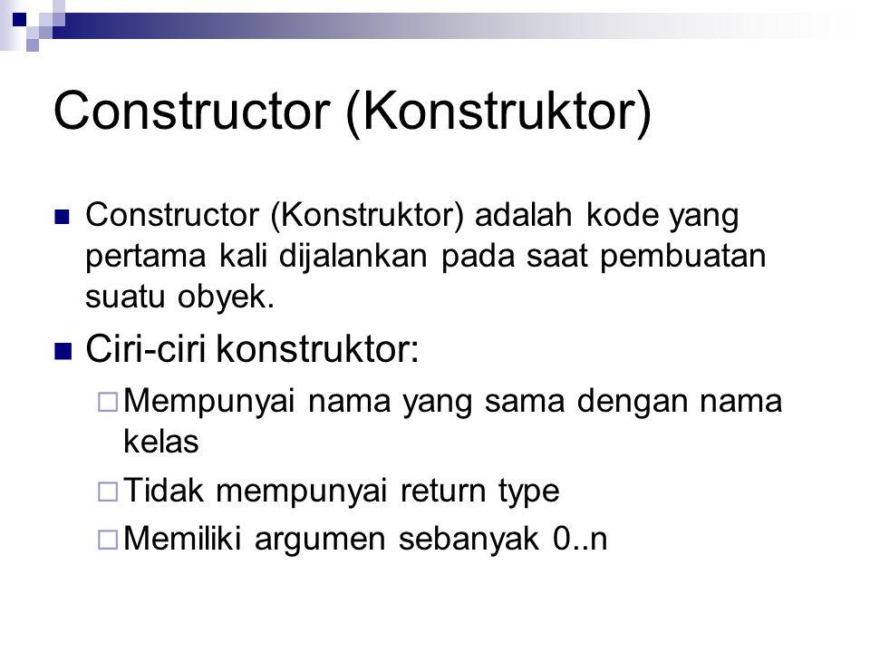 Constructor (Konstruktor)