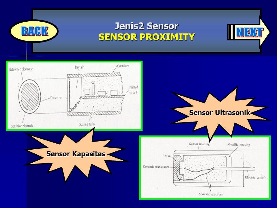 Jenis2 Sensor SENSOR PROXIMITY
