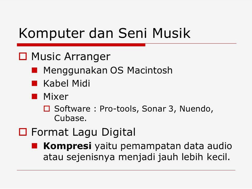 Komputer dan Seni Musik