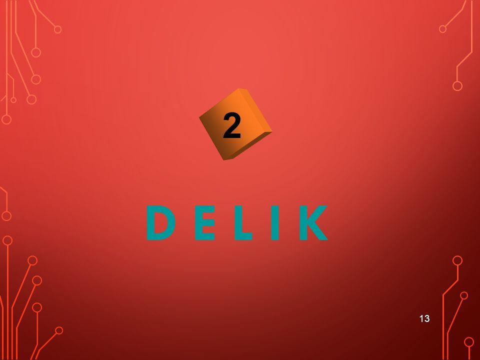2 D E L I K