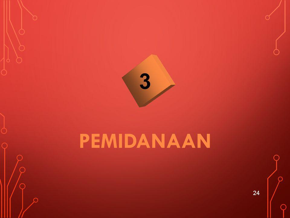 3 PEMIDANAAN