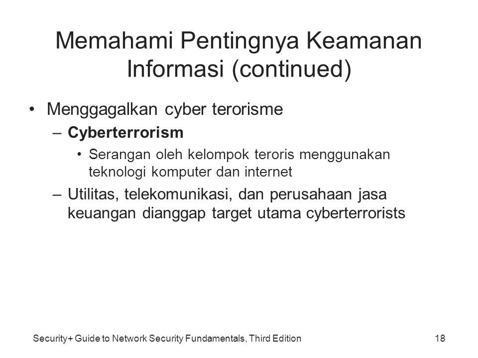 Memahami Pentingnya Keamanan Informasi (continued)