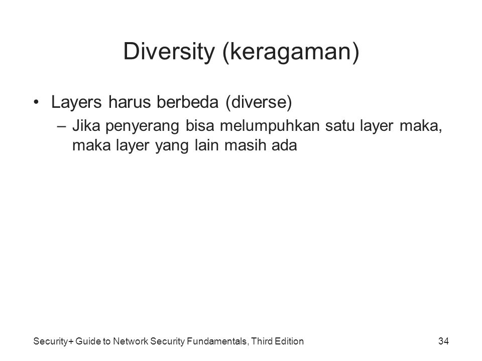 Diversity (keragaman)