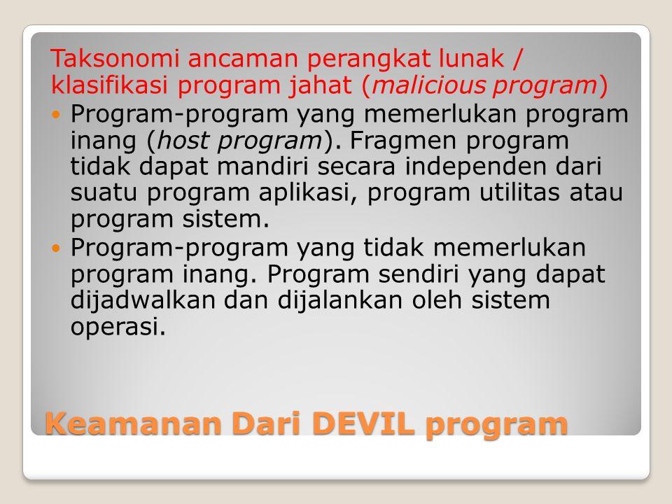 Keamanan Dari DEVIL program