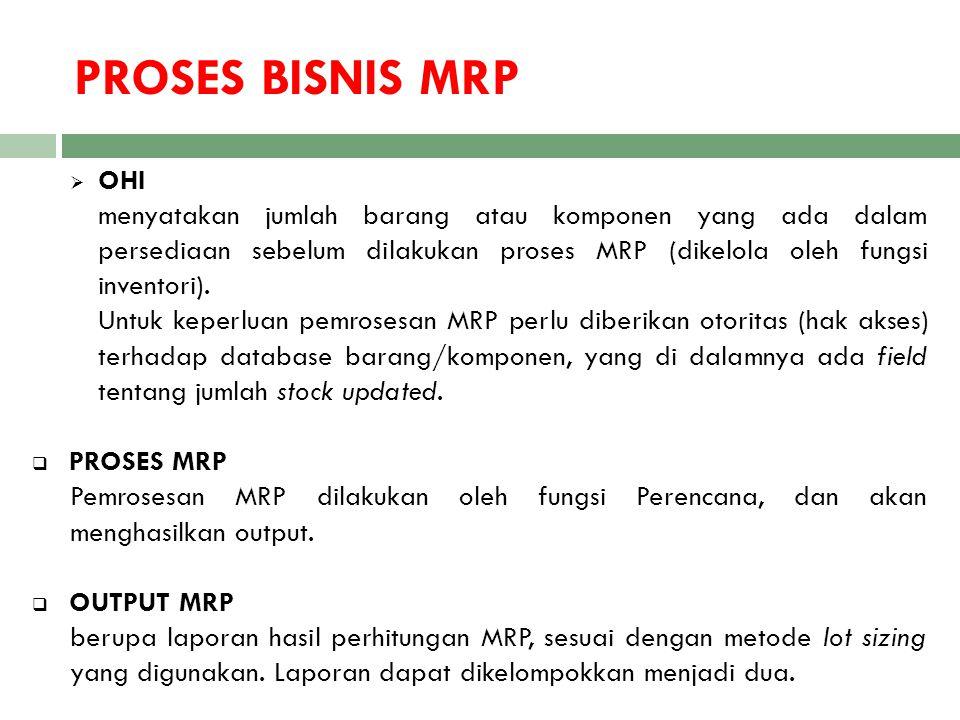 PROSES BISNIS MRP OHI.