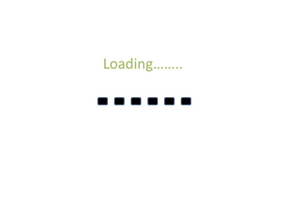 Loading……..