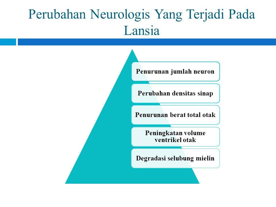 Perubahan Neurologis Yang Terjadi Pada Lansia