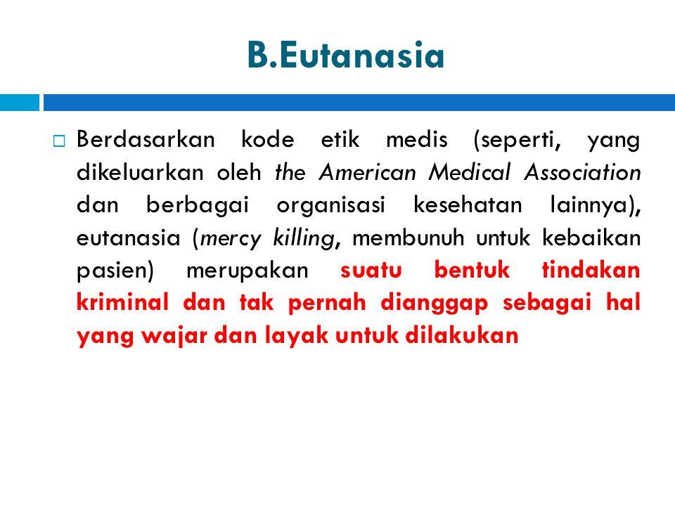 B.Eutanasia