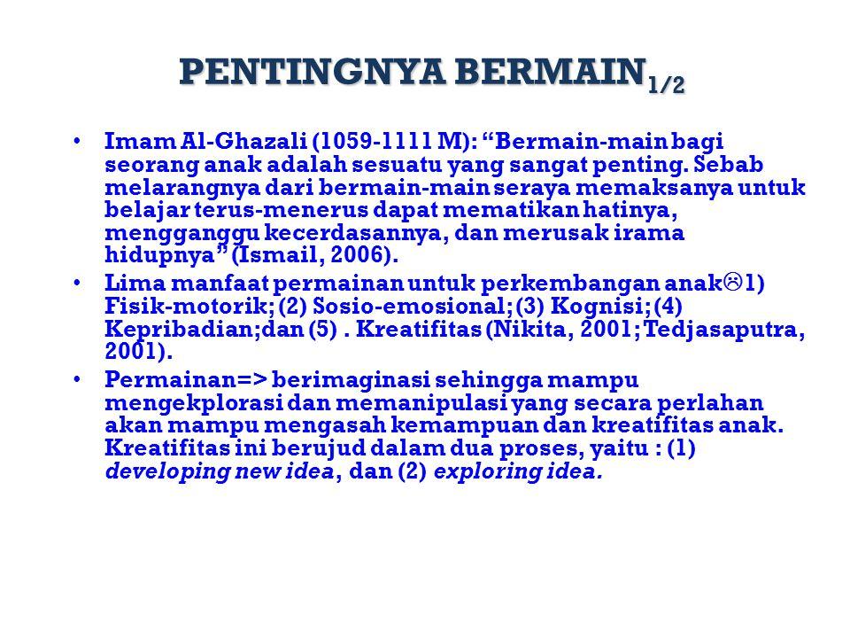 PENTINGNYA BERMAIN1/2