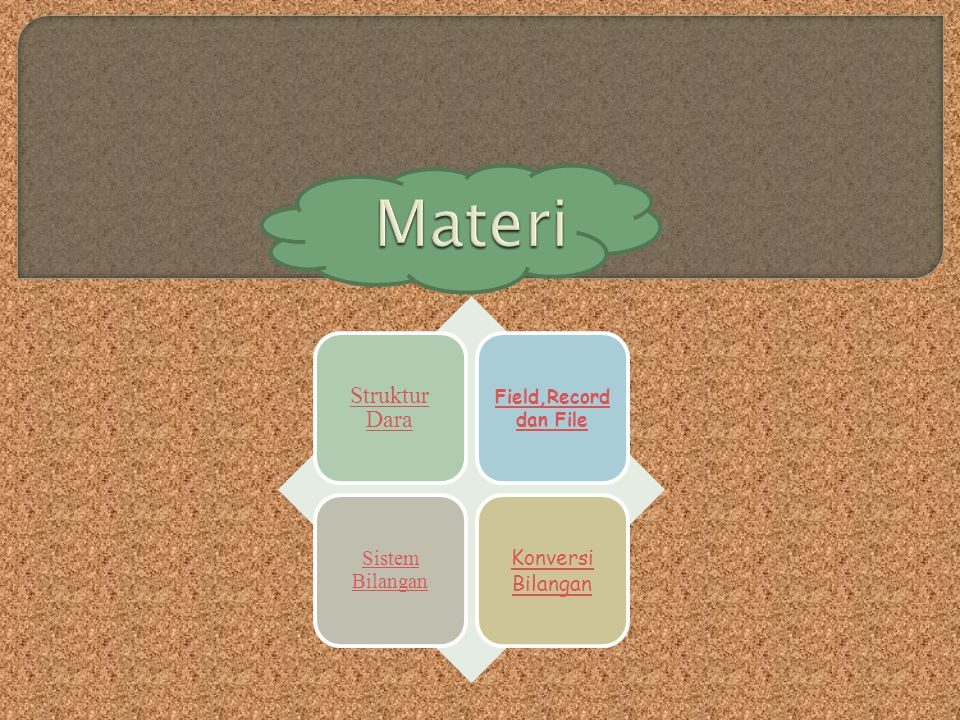 Materi Struktur Dara Konversi Bilangan Sistem Bilangan